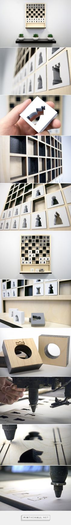 Wall Hanging Chess Board
