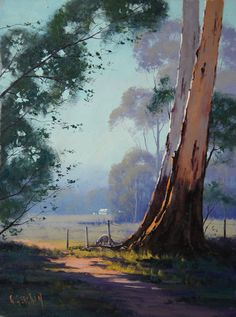 Kangaroo Grazing Landscape by artsaus on deviantART