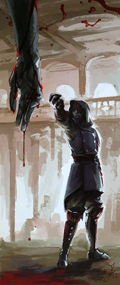 Amon.  Bloodbending. Wow...this is....disturbingly beautiful. Can I say that? Cause that's really the only way I can think to describe this.
