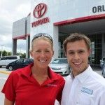 Triathlete Sarah Haskins Stops By Toyota Of Orlando    http://blog.toyotaoforlando.com/2012/05/triathlete-sarah-haskins-at-toyota-of-orlando/