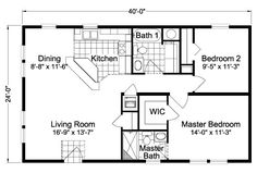 24 x 40 floor plans google search 1500 sq ft plans for 24x40 2 bedroom house plans