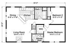 24x40 floor plans - Google Search