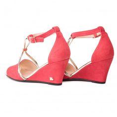 Sandały LIBERO - 1100 158 Furla, Clarks, Tommy Hilfiger, Wedges, Metal, Shoes, Fashion, Moda, Zapatos