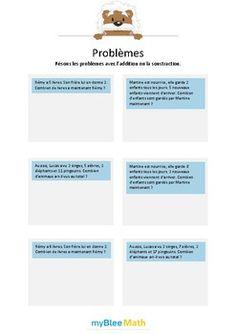 Le but de l'exercice est de résoudre des problèmes à l'aide de l'addition et de la soustraction ; Additions sans nombres inutiles dans l'énoncé. Catégorie : Problèmes Module : Addition et soustraction Application téléchargeable sur l'AppStore. Pour