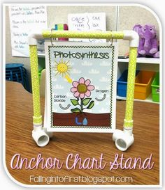 Mini Anchor Chart Stand - Falling Into First