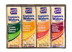 Lance® Sandwich Crackers:  Captain's Wafer® Variety Pack #LanceBacktoSchoolChecklist