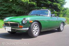 1974 MGB Convertible - I got one of these.