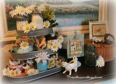 Priscillas: My Love For Tiered Trays !