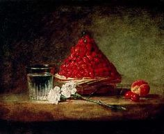 Jean-Baptiste Siméon Chardin - Basket with Wild Strawberries