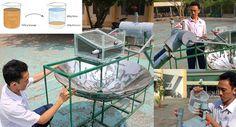 Un estudiante inventa una máquina que produce agua potable a bajo costo