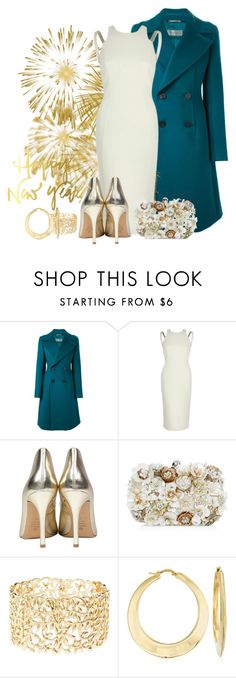 """""""RIVER ISLAND BODYCON DRESS"""" by arjanadesign ❤ liked on Polyvore featuring Sportmax, River Island, Accessorize, Charlotte Russe, Ross-Simons, RiverIsland and NewYearsEve"""