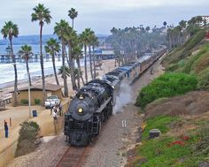 Amtrack Beach Train, San Clemente....Ryan and Matthew's first train ride!