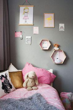 Leuke wanddecoratie voor op de meisjeskamer #wonenvoorjou