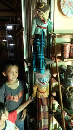 Wayang golek, traditional phupet show from west java