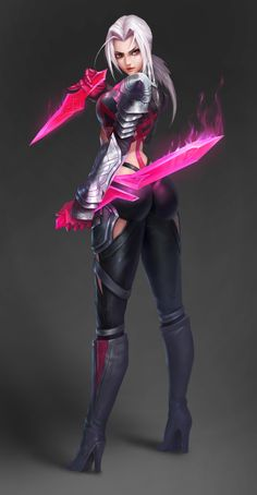 League of Legends artwork from http://www.edibleinkphotopaper.com Katarina