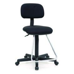 Studio Designs Black Maxima II Drafting Chair
