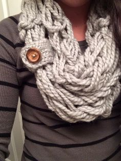 Caramel Cozy Crochet Scarf