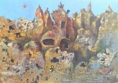 """Cappadocia"" Oil on canvas, Size 50*70cm."