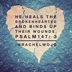 """You may feel like you have been hurt so badly that you can never be fixed. But Jesus- he is the healer. #hurting2healing #onemorestep"""
