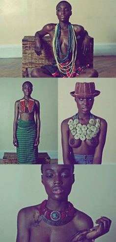 Try The Mushroon Shaped Necklace.....The African Way | FashionGHANA.com (100% African Fashion)FashionGHANA.com (100% African Fashion)