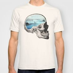 Brain Waves T-shirt by Chase Kunz - $22.00