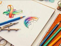 Painted logos