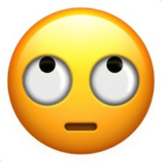 The Face with Rolling Eyes Emoji on iEmoji.com