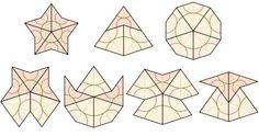 Penrose tiling - kite and dart Pattern Blocks, Quilt Patterns, Quilting Ideas, Penrose Tiling, Roger Penrose, Millefiori Quilts, Environmental Design, Star Shape, Geometric Designs