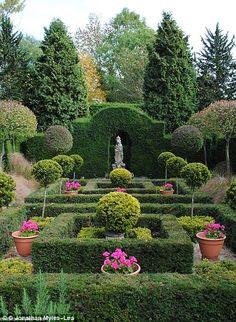 The Laskett Gardens in Herefordshire are the finest gardens covering four acres to be created since the war.