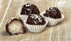 Receta: Bolas de coco y chocolate