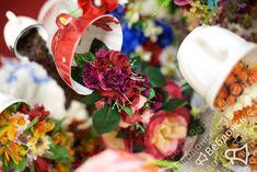 Парящая чашечка с розами