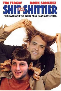 Tim Tebow and Mark Sanchez
