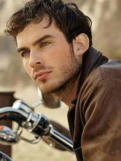 Ian. He'll always be beautiful.