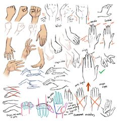 +Drawing hands and tips+ by moni158.deviantart.com on @DeviantArt