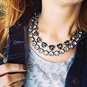 Vintage crystal and silver somervell necklace  Host a Trunk Show, Shop Fashion Jewelry & Accessories | Stella & Dot