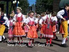 New Prague, Minnesota's Dozinky Days on Our Story's Festival Fanatics # 154