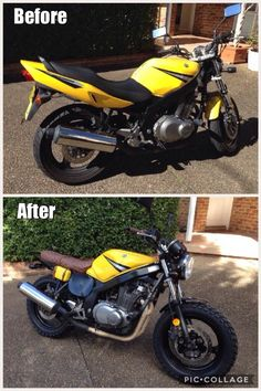 GS500 Scrambler Project