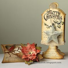 Anna-Karin: sizzix alterations pillow box die http://layersofink.blogspot.com/2012/12/holiday-gift-holders-tutorial.html
