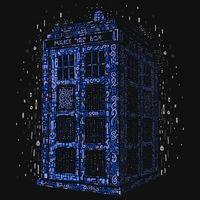 Bluebox Tees: Klimt Tardis Blue