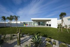 Built by Architrend Architecture in Marina di Ragusa, Italy with date 2010. Images by Moreno Maggi. This villa, like a garden pavilion hung with a spectacular view of the sea, is part of a complex of houses located in...