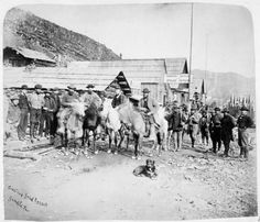Barkerville Gold Rush, Historical Pictures, British Columbia, Past, Memories, History, Film, Painting, Movie