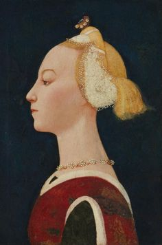 Portrait of a lady,1450s by Paolo Ucello