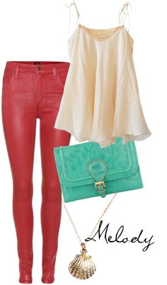 """""""Melody - the little mermaid II"""" by lauren-claire-bacher on Polyvore"""