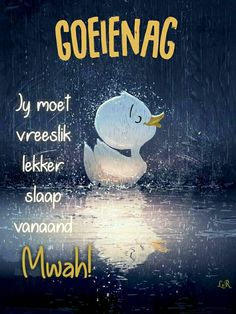 Good Night Wishes, Good Night Sweet Dreams, Good Night Quotes, Morning Quotes, Good Night Image, Good Morning Good Night, Evening Greetings, Goeie Nag, Afrikaans Quotes