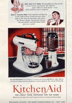 kitchen aid mixer!