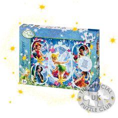 Jigsaw Puzzles: Tinkerbell Glitter Jigsaw Puzzle