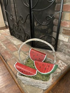 Watermelon Crafts, Watermelon Patch, Rustic Crafts, Wooden Crafts, Diy Crafts, Wood Stars, Wood Cutouts, Summer Crafts, Rustic Wood