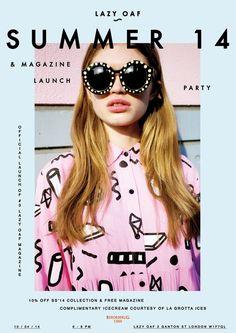 Lazy Oaf SS14 Magazine Launch | Lazy Oaf Journal: