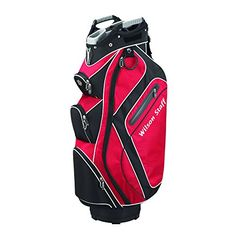 Golf Carts Ideas | Wilson Staff Cart Plus Bag Red >>> Check out this great product. Note:It is Affiliate Link to Amazon.