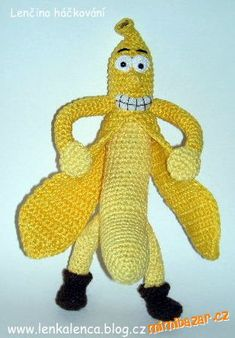Než se pustíme do práce, přečteme si pozorně celý pracovní návod!!!<br><br><br>POUŽITÉ ZKRATKY<br>BP... Crochet Fruit, Tweety, Disney Characters, Fictional Characters, Chiffon, Art, Humor, Vegetables, Crochet Magazine